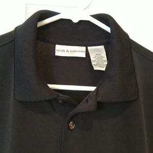 EUC Croft & Barrow Poly Blend Polo